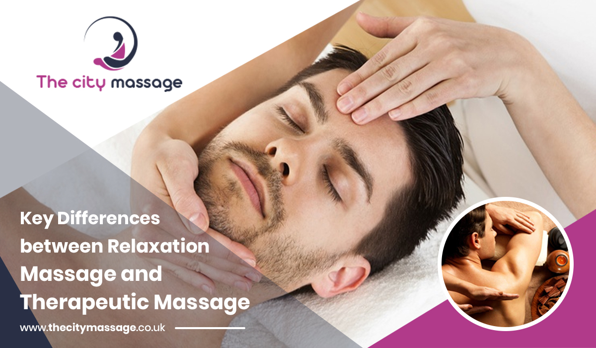Relaxation Massage and Therapeutic Massage